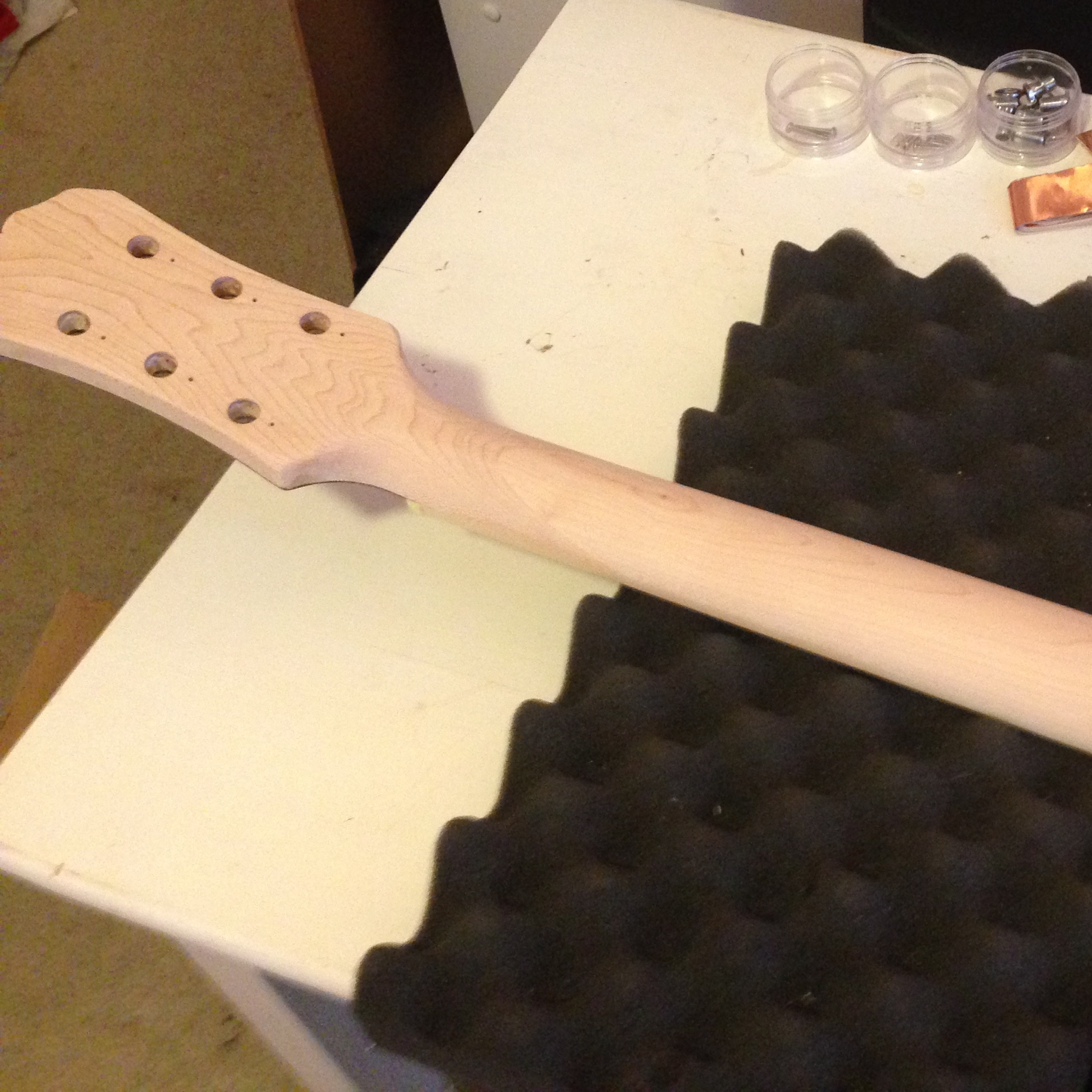 Taking the Finish Off a Guitar Neck