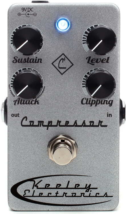 Keeley 4 Knob Compressor Review
